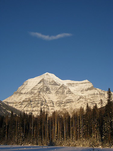 Christmas, travelling & photos of Mt. Robson