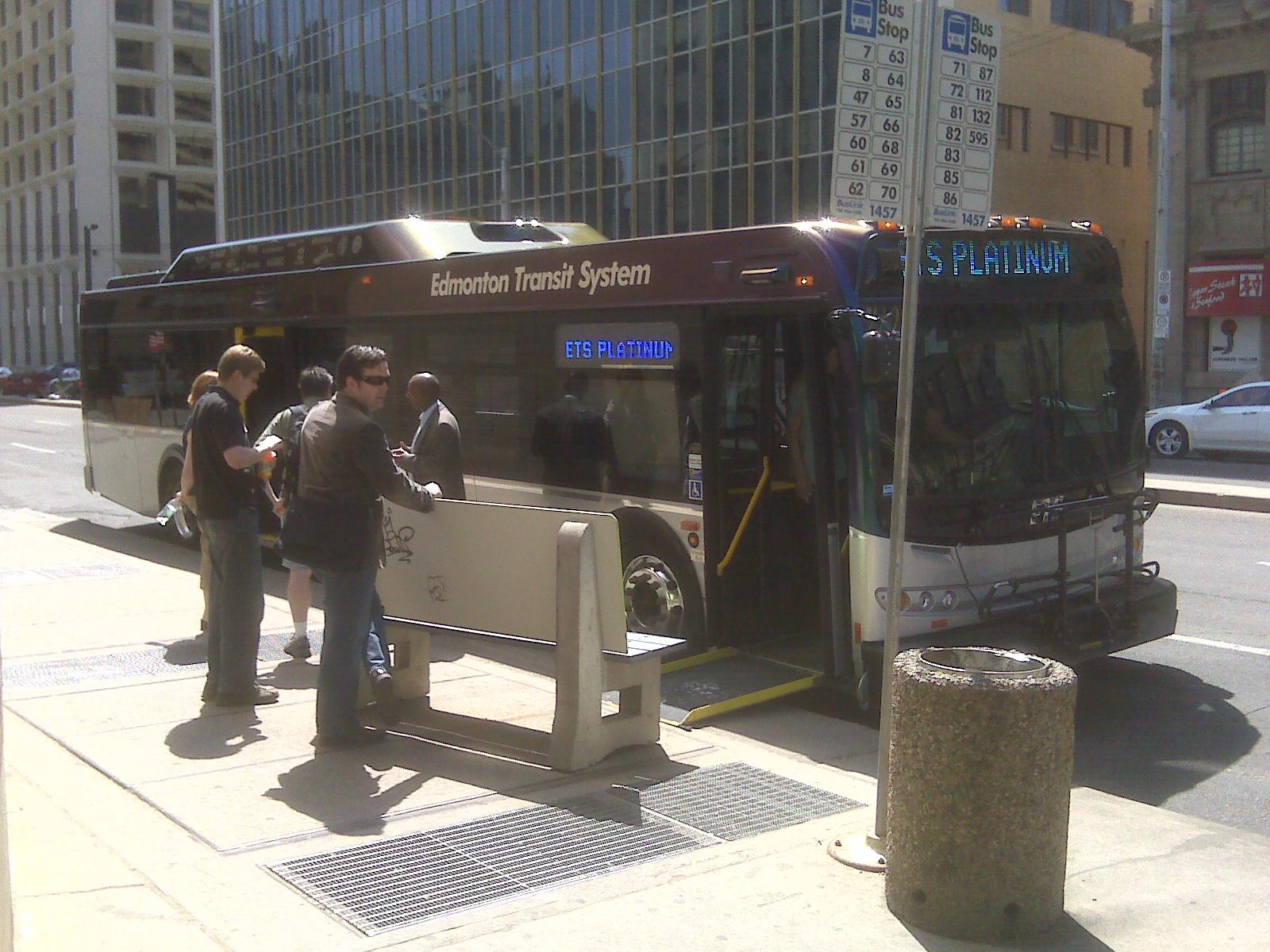Edmonton Transit Camp #yegtransit