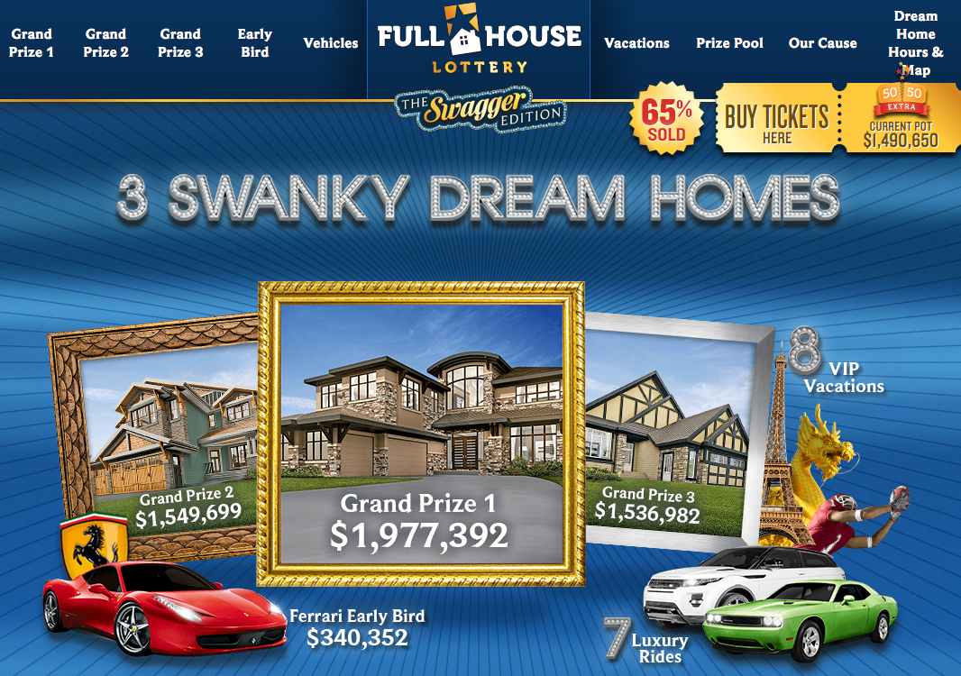full house edmonton lottery home